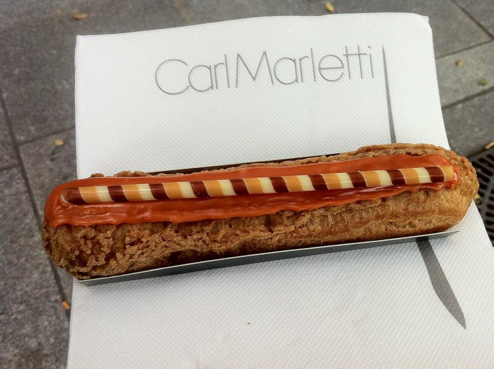 Carl Marletti - Éclair caramel