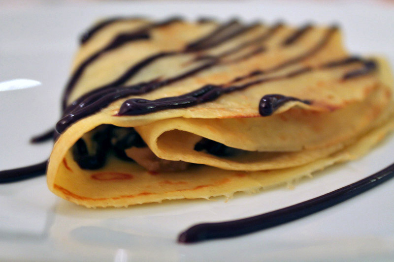 Banana-chocolate crepe - Basic recipe - Step 13
