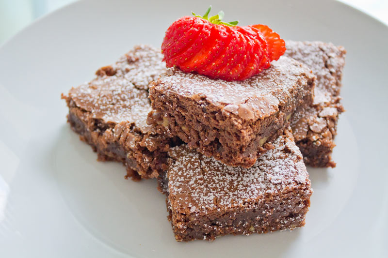 Chocolate fudge brownies - 02
