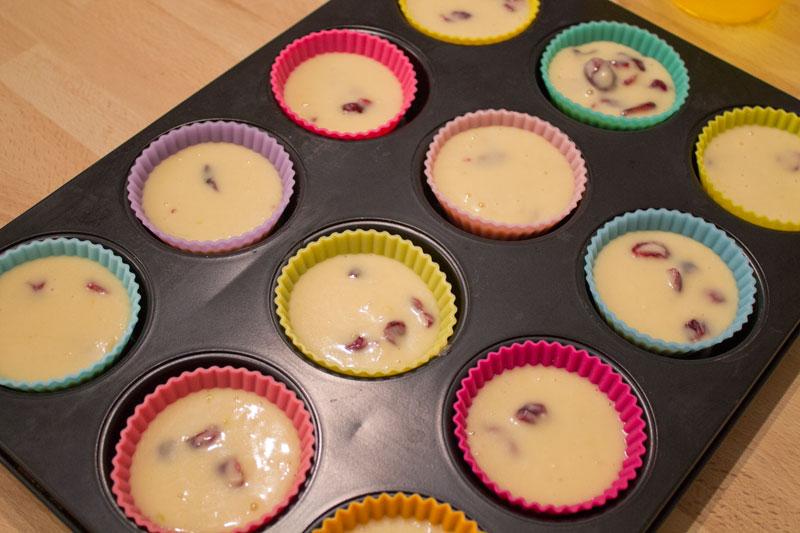 Cranberry muffins - Step 06