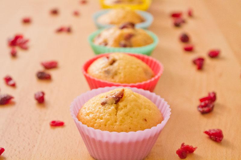 Cranberry muffins - Step 14