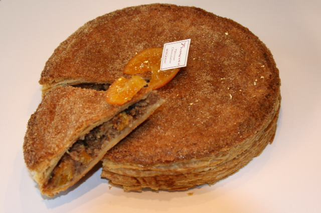 Galette - Francois Grander - Chocolate chips, candied orange zets and Grand Marnier