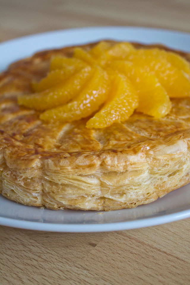 Galettes des rois with almond oranges grand marnier 11