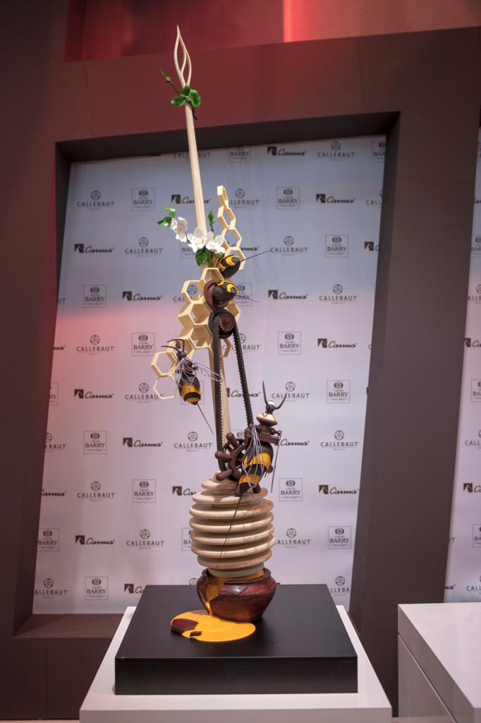 Chocolate showpiece - Daniel Staron - Poland