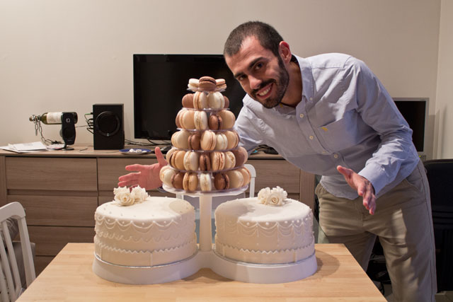 Me and wedding cakes