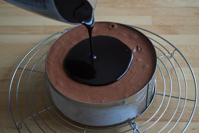 Directions 1 Prepare The Chocolate Mirror Glaze