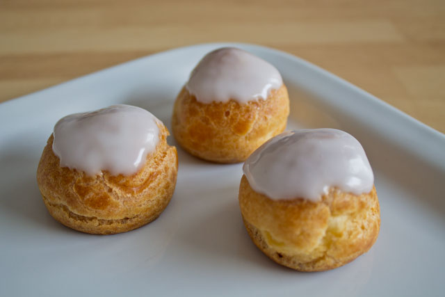 Recipe: Cream puffs with pastry cream – Road to Pastry