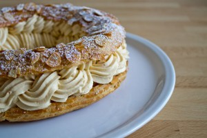 Paris-Brest with praliné mousseline cream