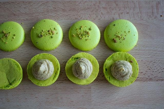 Recipe - Pistachio macarons - Step 43