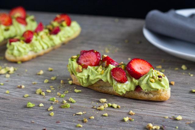 Recipe-pistachio eclairs2