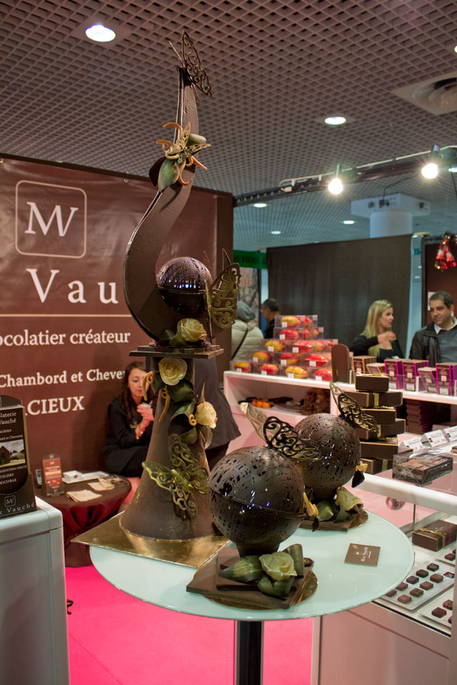 Showpiece at the stand of Max Vauché