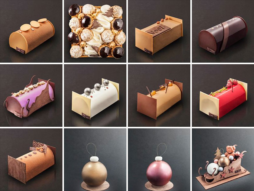 The 2013 Christmas collection by Pâtisserie Lac