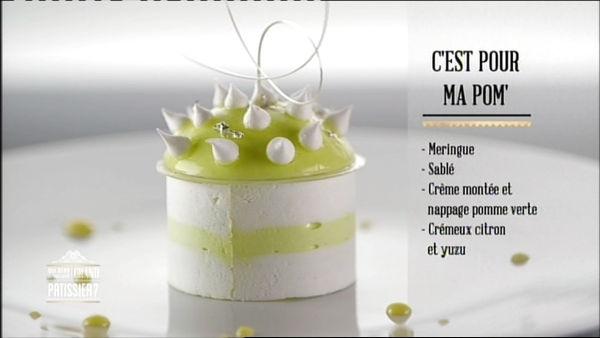 Apple dessert by Yann - Qui sera le prochain grand pâtissier