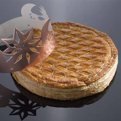 Galette des rois by Lenôtre: frangipane cream