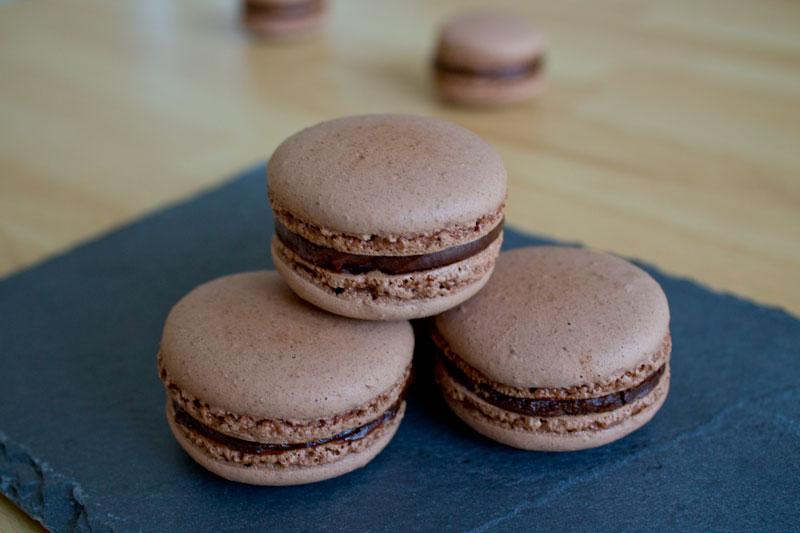 macarons-chocolate