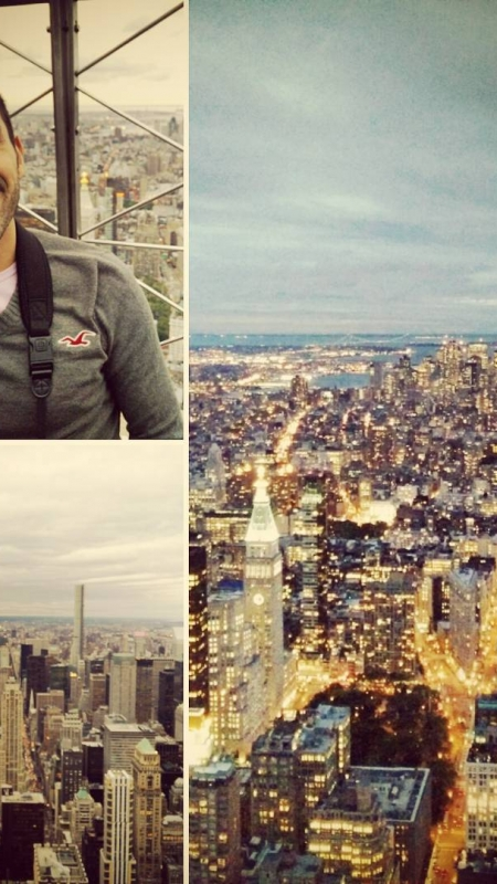 I'm on #top of the world hey – @NewYork