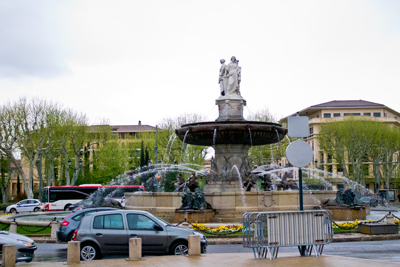 Fountain in Aix en Provence
