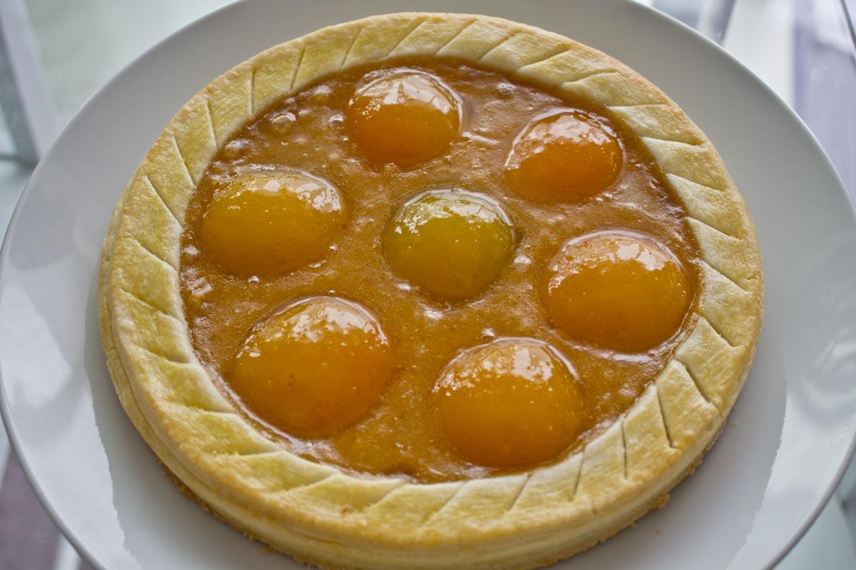 Apricot tart - Step 10