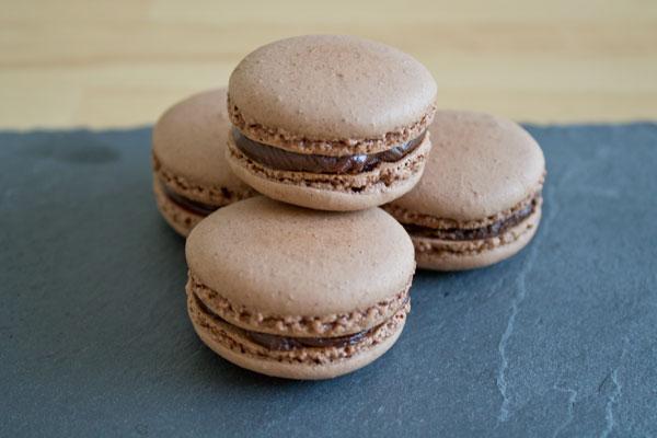 Chocolate macarons - 02