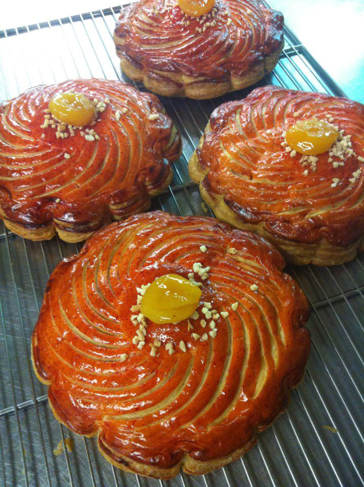 Galette 2013 - Thierry Mulhaupt - Praline frangipane and abricots
