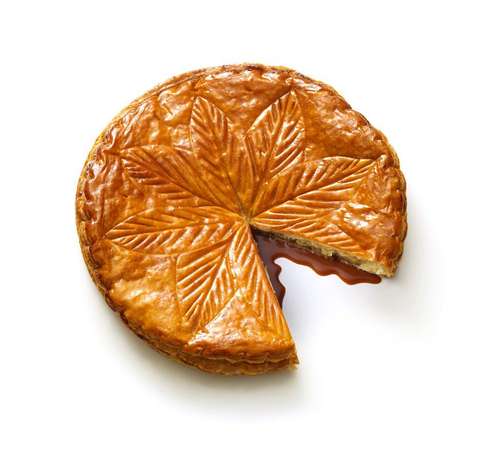 Galette Arnaud Lahrer - Almond paste and caramel