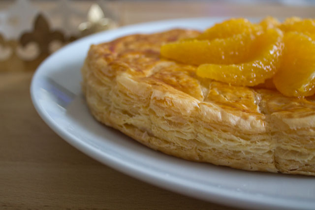 Galettes des rois with almond oranges grand marnier 10