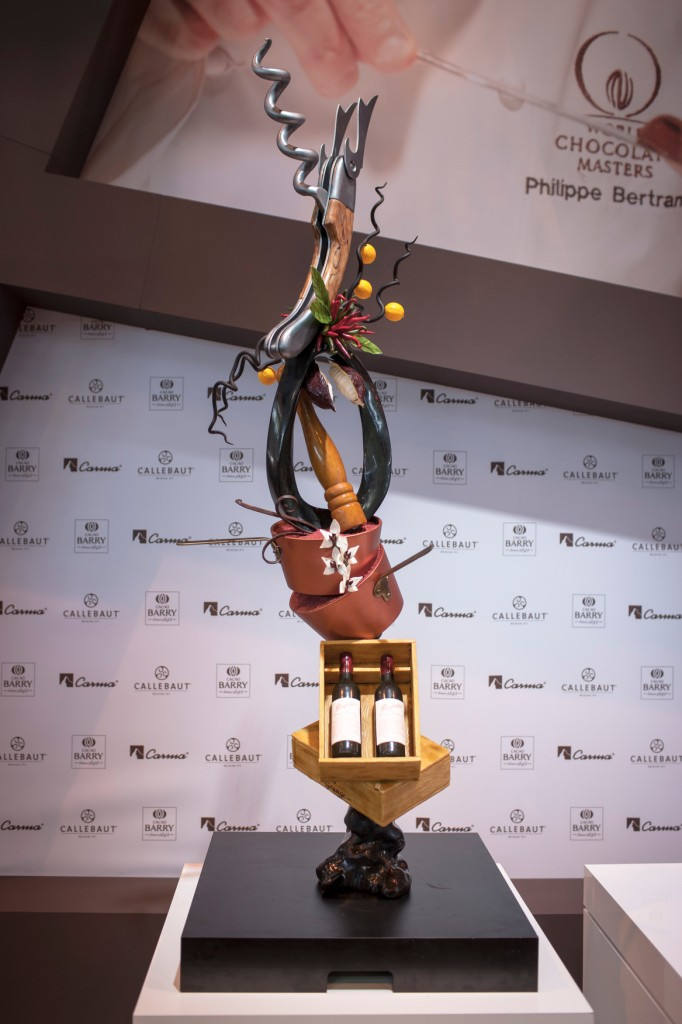 Chocolate showpiece - Deniz Karaca - Australia