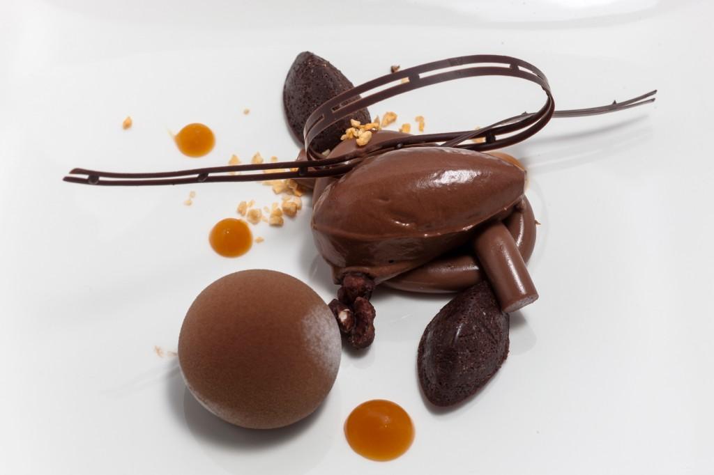 Gastronomic dessert - Gustav Mabrouk - Sweden