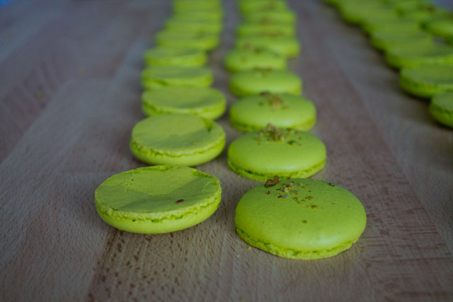 Recipe - Pistachio macarons - Step 42