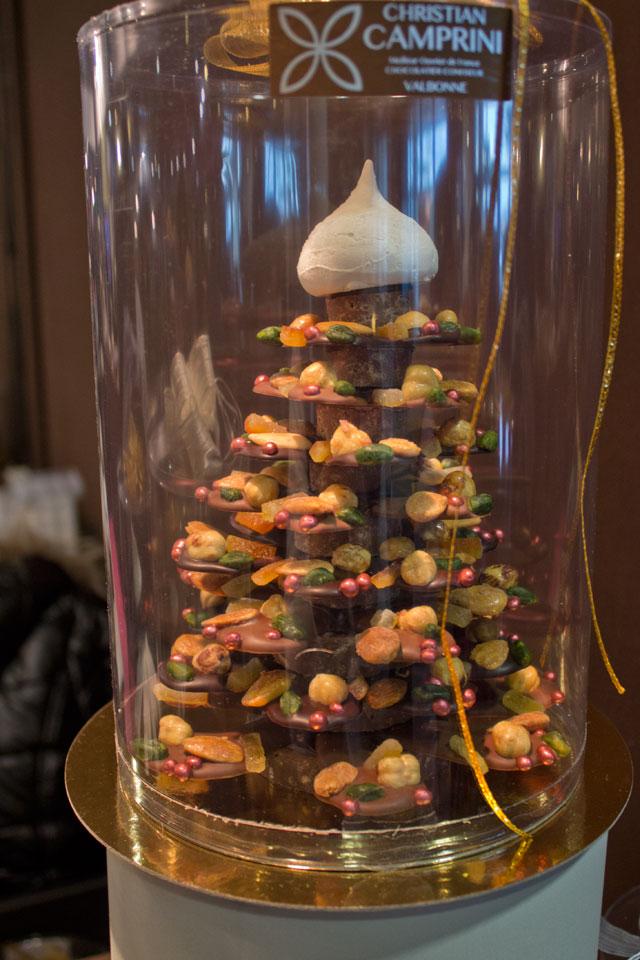 Chocolate Christmas tree by Christian Camprini