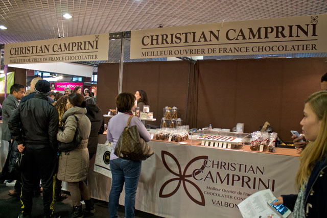 The stand of Christian Camprini