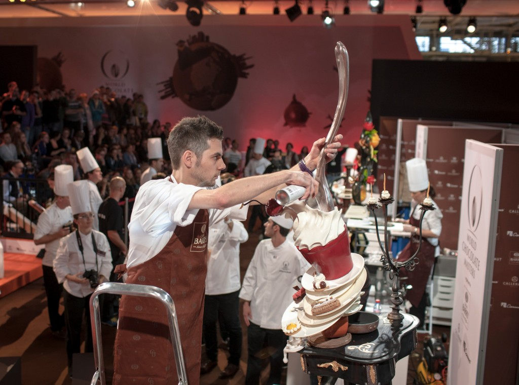 Chocolate showpiece - Yvan Chevalier - France