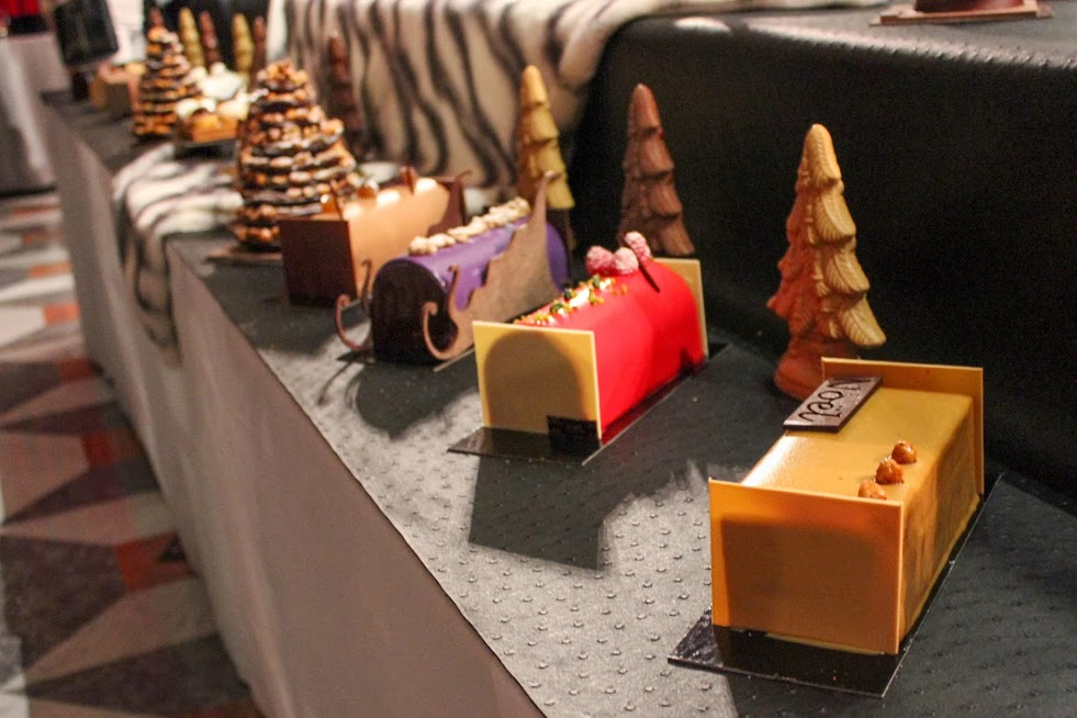 The new yule logs by Pâtisserie Lac - Christmas 2013