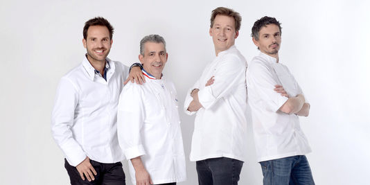Jury of Le Prochain Grand Patissier