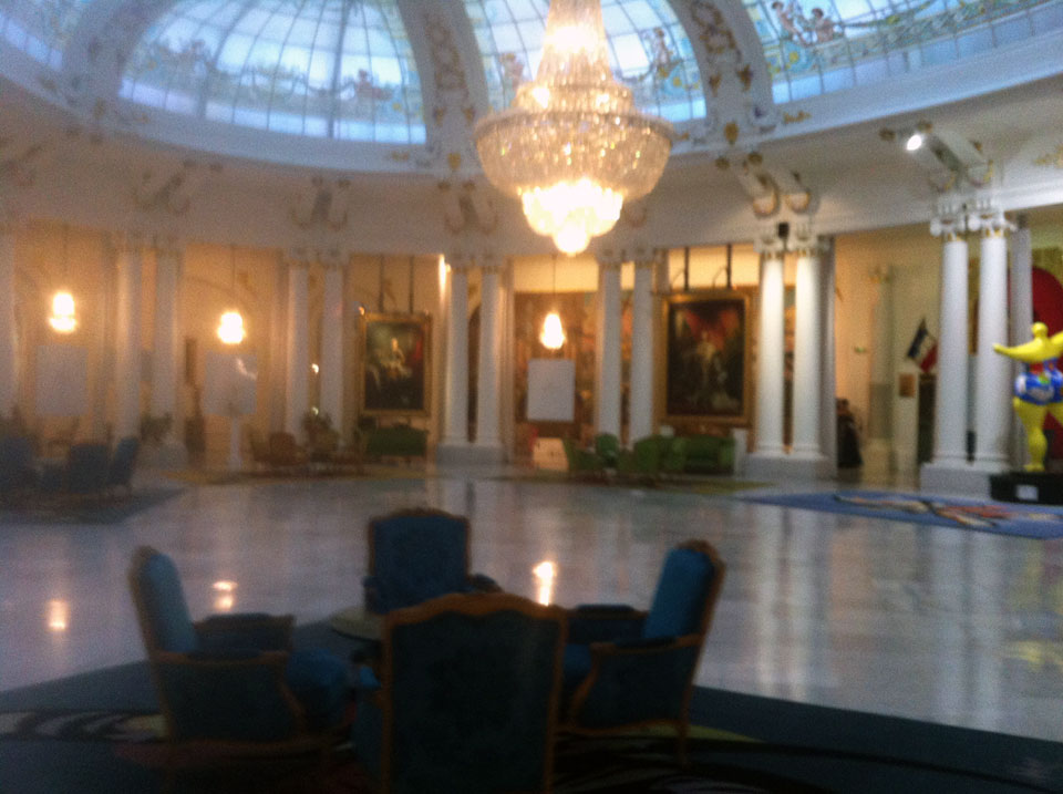 The main hall at Le Negresco